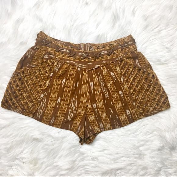 Free People Pants - Free People Patola Ikat Lattice Shorts